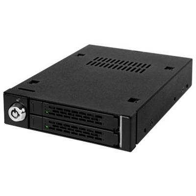 Un rack compact de 2.5´´ pour 2 disques HDD/SSD !Prenant place dans une baie de 3,5 pouces, le rack ICY DOCK MB992SK-M est une solution simple, rapide et très performante pour étendre votre capacité de stockage. Grâce à sa conception entièrement métalique