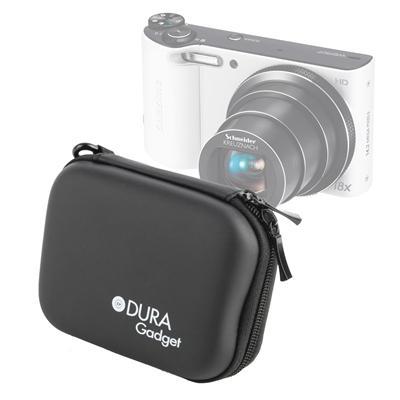 DURAGADGET étui rigide noir pour Samsung Smart Camera WB150F, WB800F & WB250F