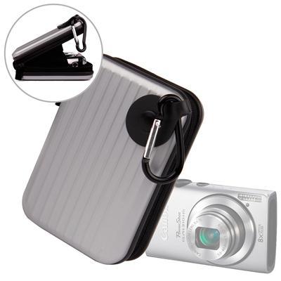 Etui en aluminium léger pour Canon Elph130 IS, Powershot A1200 et & S100 / S95