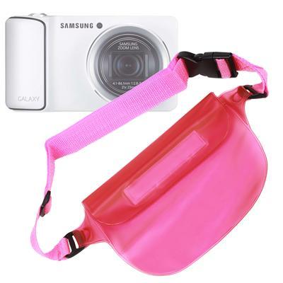 DURAGADGET étui étanche rose pour appareil Samsung Smart Camera NX1000 & NX20