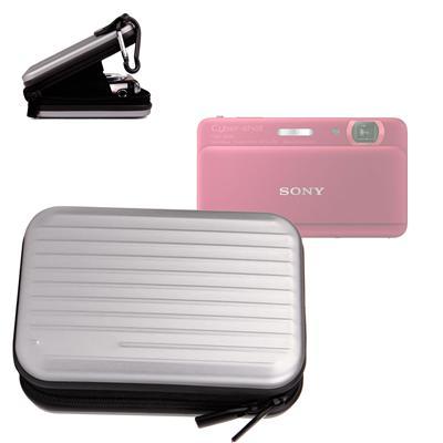 Etui en aluminium léger pour Sony CyberShot DSC-TX55, T110, W730, J10, W580