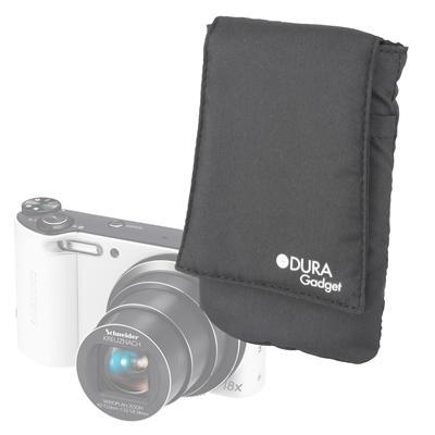 DURAGADGET Pochette noir pour Samsung Smart Camera WB150F, WB800F & WB250F