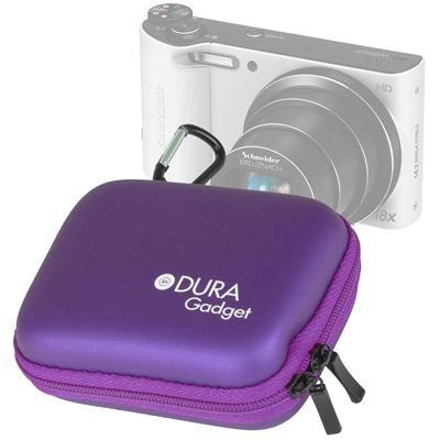 DURAGADGET étui rigide Violet pour Samsung Smart Camera WB150F, WB800F & WB250F