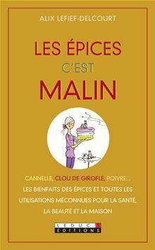 Les épices, c'est malin - 9782848999401 - 4,99 €
