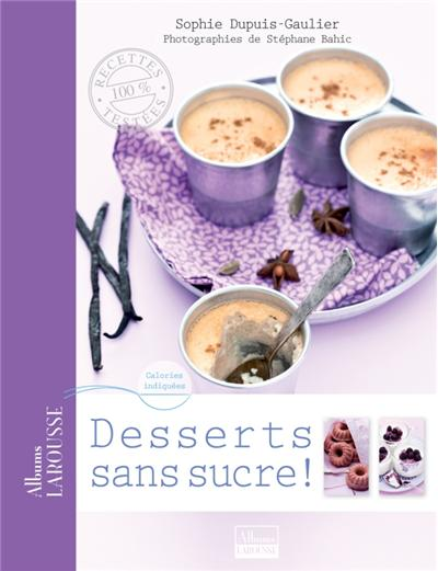 Desserts sans sucre - 9782035874863 - 3,99 €