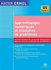Ermel - Apprentissages numériques et résolution de problèmes Grande Section - 9782218952654 - 13,99 €