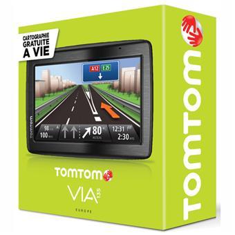 GPS TomTom Via 135 M - Europe 45 pays - Cartographie gratuite à vie