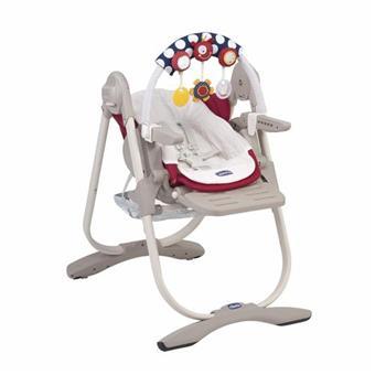 Haute Scarlet Chaise Magic Chicco Polly iTPXkOZu
