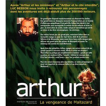 arthur et la vengeance de maltazard le film gratuitement