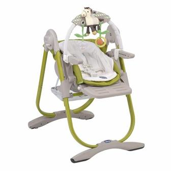chicco chaise haute polly magic lime achat prix fnac