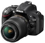 Nikon D5200 Noir + Obj. Nikon AF-S DX 18-55 VR II f/3.5 - 5.6 G