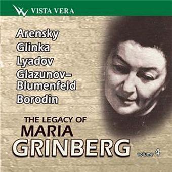 Maria Grinberg, pianiste , Volume 4