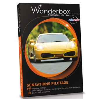 5 sur wonderbox coffret sensations pilotage coffret cadeau achat prix fnac. Black Bedroom Furniture Sets. Home Design Ideas