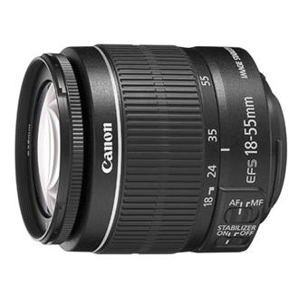 Canon EF-S 18-55 mm f/3.5-5.6 IS II Reflex Lens