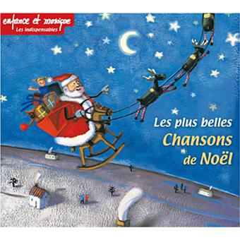 Les Plus Belles Chansons De Noel Les plus belles chansons de Noël   Musique pour les enfants   CD