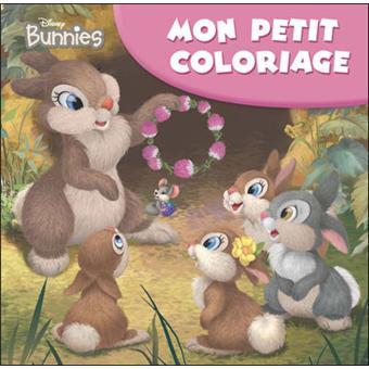 Petit Coloriage Bunnies Pan Pan Et Sa Famille Broché Walt
