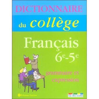 Grammaire Et Expression 6eme 5eme