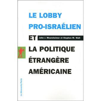 Le lobby proisra  lien et la    politique      trang  re