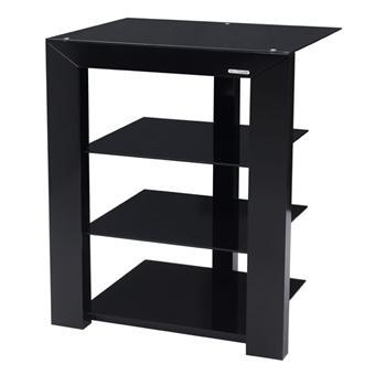 norstone design pi noir meuble tv. Black Bedroom Furniture Sets. Home Design Ideas