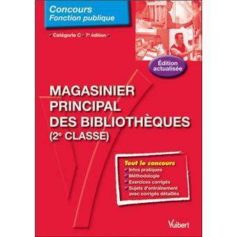 N.57 Magasinier principal des bibliothèques 7e edt