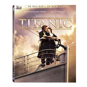 Titanic Edition 2012 Combo Blu-ray 3D + 2D + DVD