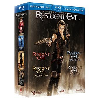 Resident Evil - Coffret de la Tétralogie - Blu-Ray