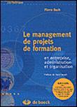 Le management de projets de formation
