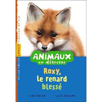SOS animaux en détresseRoxy le renard blessé