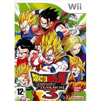 Dragon ball z tenkaichi 3 jeux vid o achat prix fnac - Jeux info dragon ball z ...