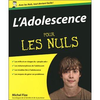 Pour Les Nuls L Adolescence Pour Les Nuls