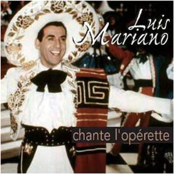 Luis Mariano chante l'opérette