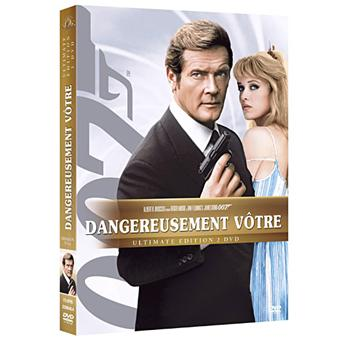 James BondDangereusement vôtre DVD