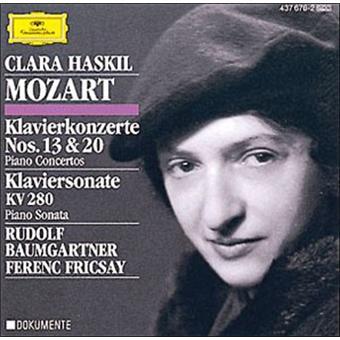 Concertos pour piano N°13 et N°20