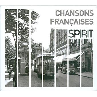 Spirit of chansons françaises Coffret