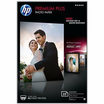 Papier photo imprimante HP Premium Plus - Brillant