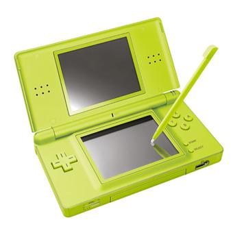 console ds lite verte nintendo console portable achat prix fnac. Black Bedroom Furniture Sets. Home Design Ideas