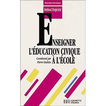 Enseigner l'éducation civique à l'école