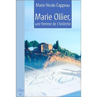 CAPPEAU Marie-Nicole Marie-Ollier-une-femme-de-l-Ardeche