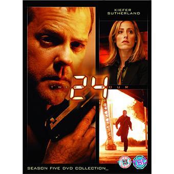 24 heures chrono24 - Seizoen 5 DVD-Box