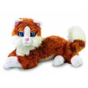 jouet chat peluche interactif