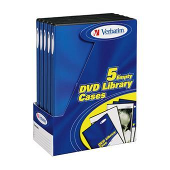 Verbatim boîtiers de rangement DVD