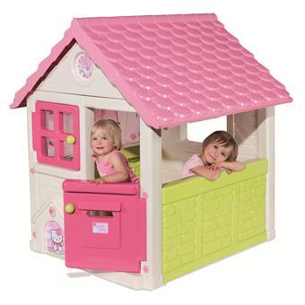 smoby hello kitty maison de jardin sweet home maisons de. Black Bedroom Furniture Sets. Home Design Ideas