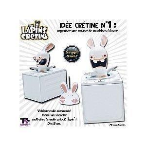 Lapins cr tins machine laver t l command e lapin jeux vid o achat prix fnac - Jeux lapin cretain gratuit ...