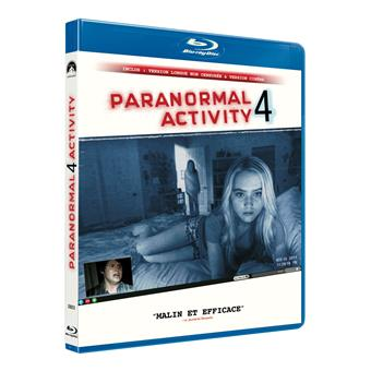 Paranormal activityParanormal Activity 4 - Blu-Ray
