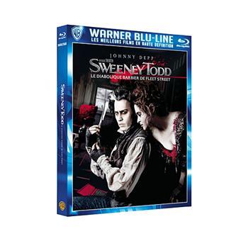 Sweeney Todd Le diabolique barbier de Fleet Street Blu-ray