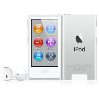 apple ipod nano vii 16 go silver argent baladeur mp3 mp4 achat prix fnac. Black Bedroom Furniture Sets. Home Design Ideas