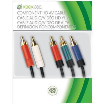 Câble composante HD Microsoft pour Xbox 360