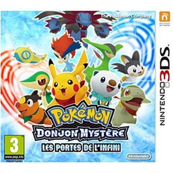 Pokemon donjon myst re les portes de l 39 infini 3ds sur - Pokemon donjon mystere les portes de l infini ...