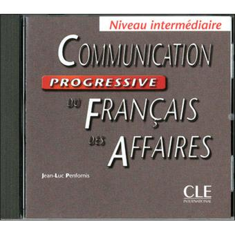 Fle commercial fle franais langue etrangre livre bd fnac niveau intermdiaire communication progressive du franais des affaires niveau intermdiaire fandeluxe Image collections