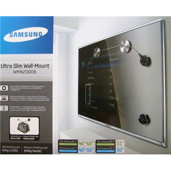 samsung wmn2000b pour cran de 46 60 support mural tv achat prix fnac. Black Bedroom Furniture Sets. Home Design Ideas